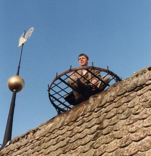 """Turm: Der letzte gesichtete """"Storch"""" im Jahre 1999"""